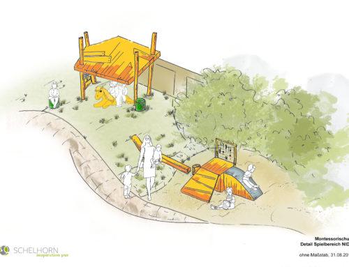 Das ist die Outdoor-Spielwelt für ibms-Kinder