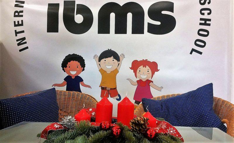 Weihnachtszeit an der international bilingual montessori school in Frankfurt