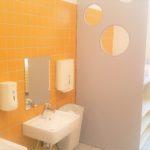 Sanitäre Bereiche für Nido, Kinderhaus, Schule in der ibms Frankfurt
