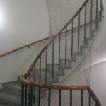Treppe in der international bilingual montessori school