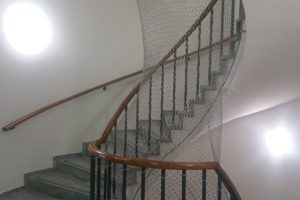 Treppe in der international bilingual montessori school
