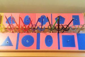 Montessori - Vorübungen fürs Schreibenlernen international bilingual montessori school -